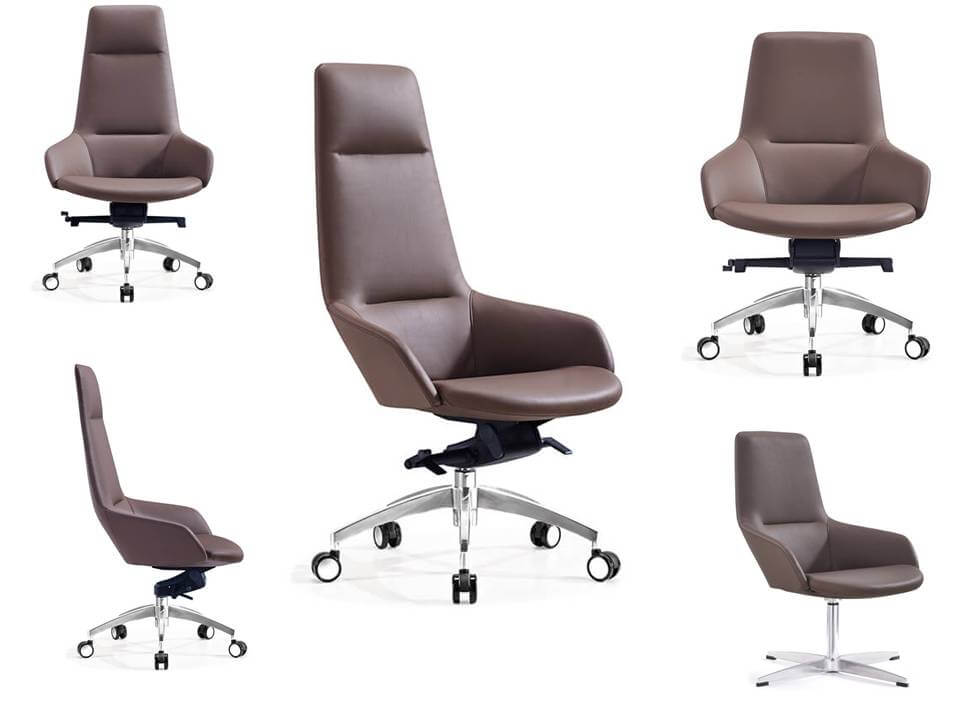 leather office chair 847 multi-angle